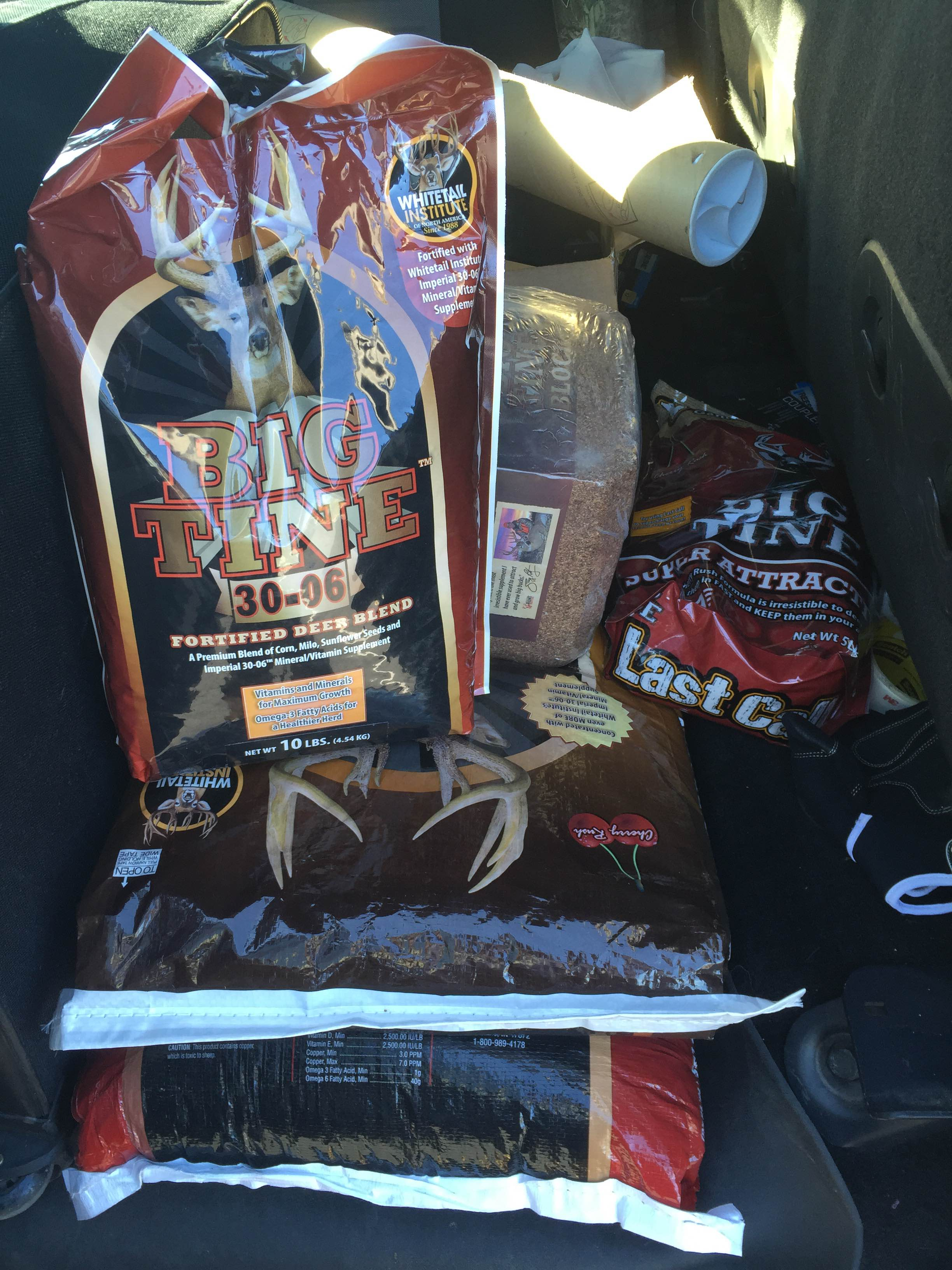 Big Tine Deer Attractants