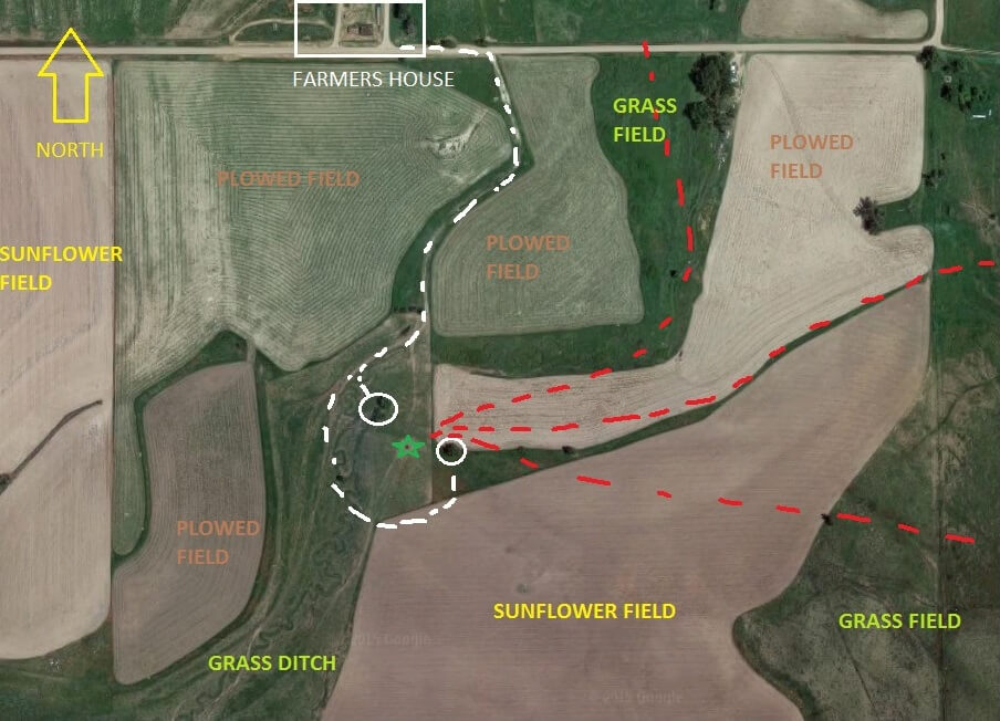 Detailed Hunting Map