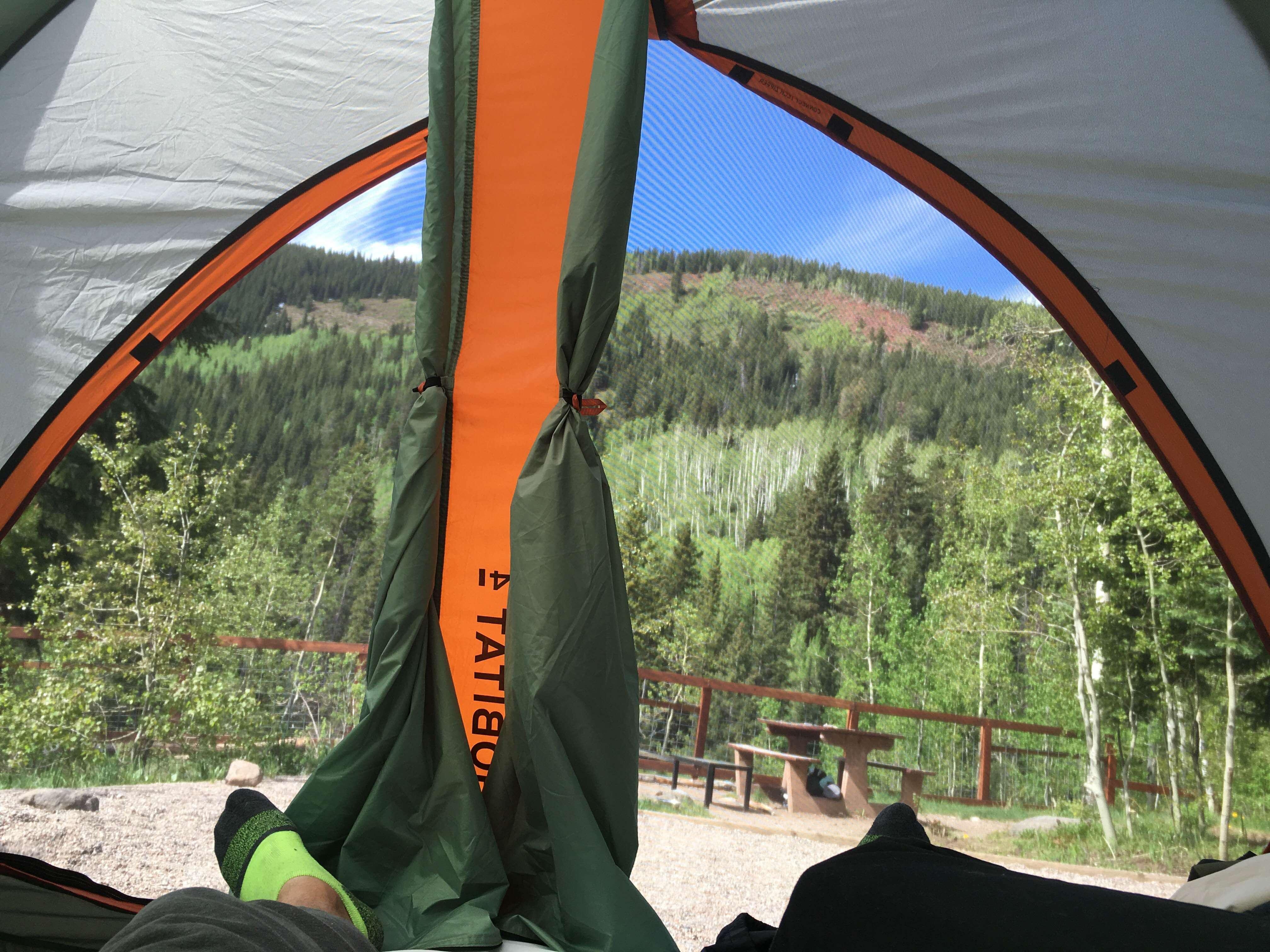 Camping At Fulford Cave Campground