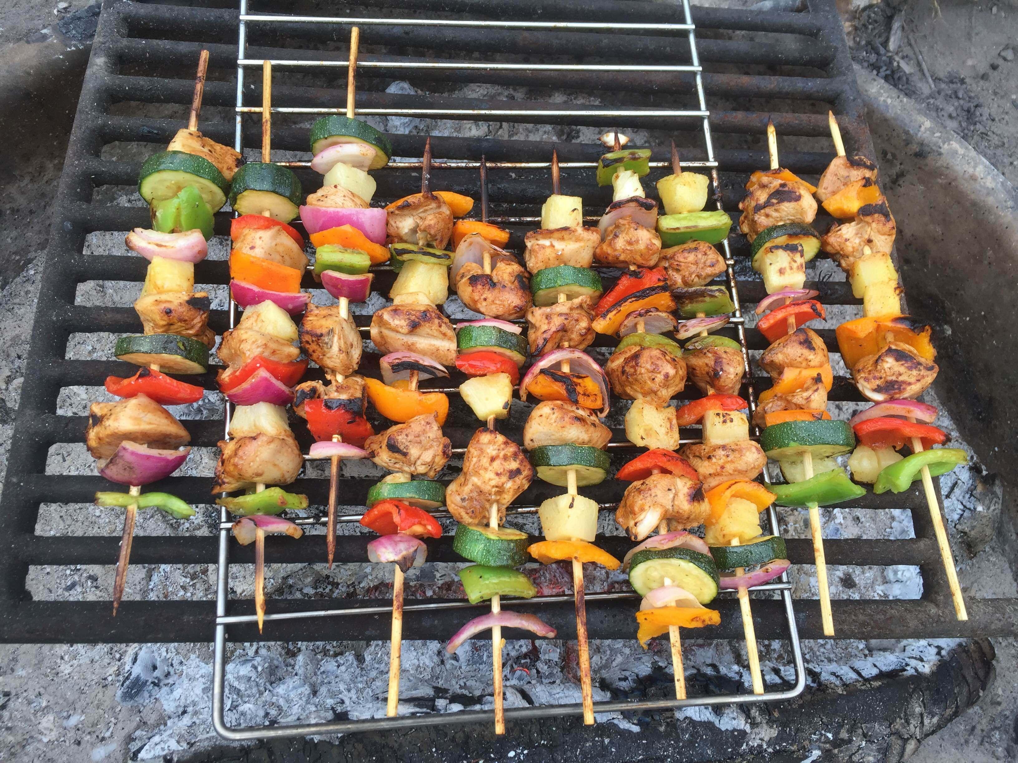Marinated Chicken Kabobs